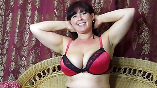 Fat woman hairy mature porn solo video