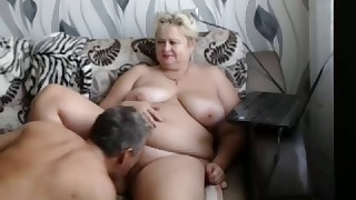 Sweet mature BBW Russian hottie gets fucked