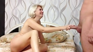 Stunning Russian homemade mature porn