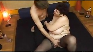 Beautiful mature Russian shows her boobs