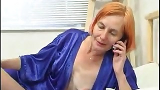 Good-looking Russian redhead babe VS dicks