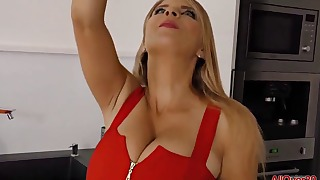 Awesome MILF mature oral porn with a doll